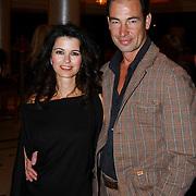 Modeshow Sheila de Vries 2004, Caroline de Bruijn en Erik Vogel