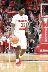 05 December 2015:  Roland Griffin(35).Illinois State Redbirds host the University of Alabama - Birmingham Blazers at Redbird Arena in Normal Illinois (Photo by Alan Look)