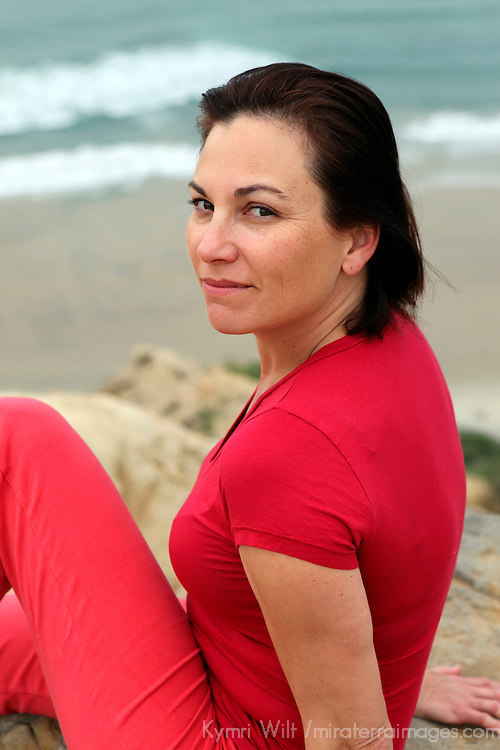 USA, California.  Natural healthy woman in mid-40's.