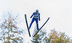 12.10.2014, Montafoner Schanzenzentrum, Tschagguns, AUT, OeSV, Oesterreichische Staatsmeisterschaften Ski Nordisch, im Bild Wilheim Denifl (AUT) // Wilheim Denifl of Austria during Austrian Nordic Ski Championships at the Montafoner Schanzenzentrum, Tschagguns, Austria on 2014/10/12. EXPA Pictures © 2014, EXPA/ Peter Rinderer