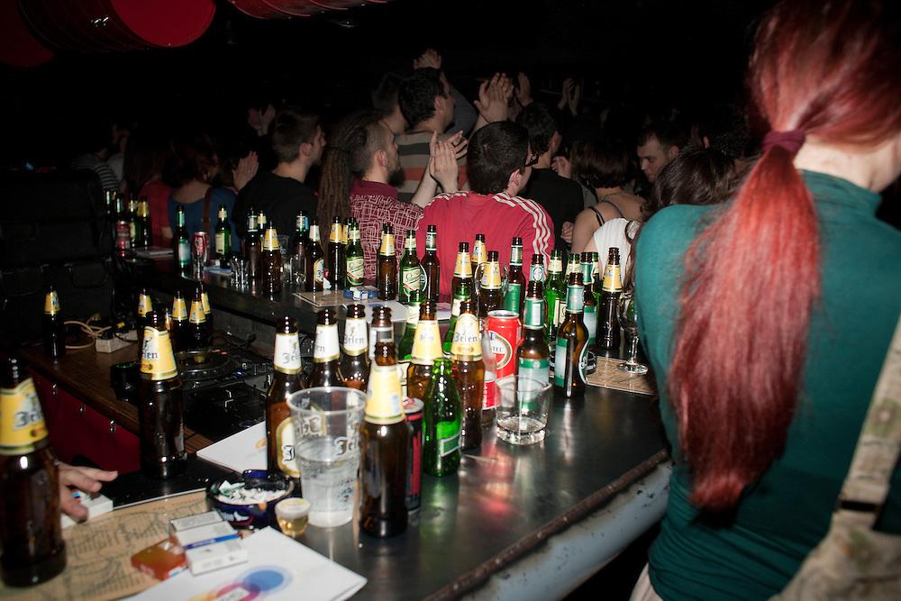 Kultur Shock in Belgrade, Serbia..