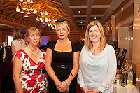 Mona Albertini, Ardrahan, Orla McHale, Kinvara, Aideen O'Malley Kinvara at  A Vintage and Pre-Loved Fashion Extravaganza held in the Lady Gregory Hotel in Gort . A fundraising event organised by the Parents Council for Seamount's new pitch.  Photo:Andrew Downes
