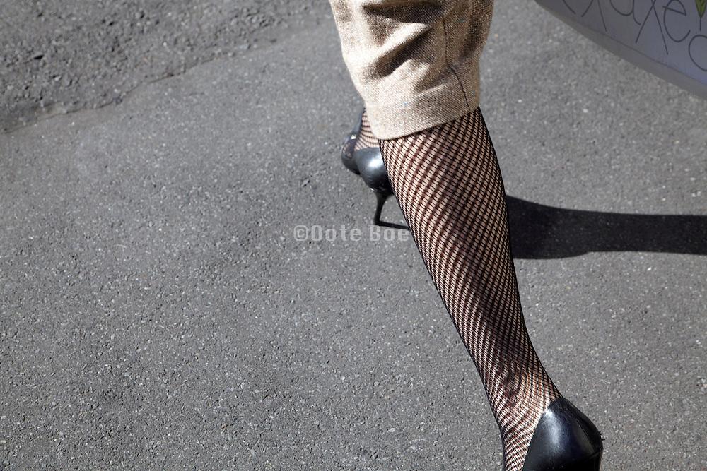 sharp dressed female legs
