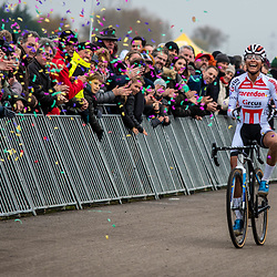 2018-11-24: Cycling: CX Worldcup: Koksijde: pure joy