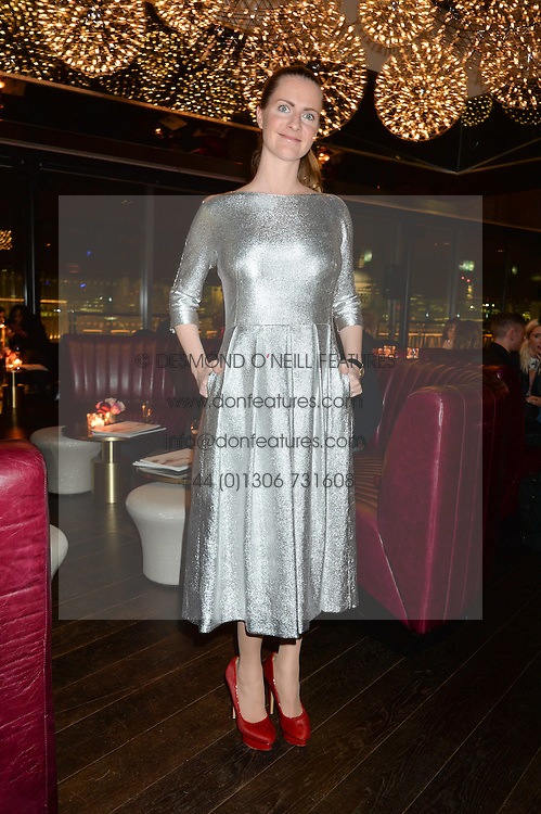 CHLOE GRANT at the Launch Of Osman Yousefzada's 'The Collective' 4th edition with special guest collaborator Poppy Delevingne held in the Rumpus Room at The Mondrian Hotel, 19 Upper Ground, London SE1 on 24th November 2014, sponsored by Storm models and Beluga vodka.