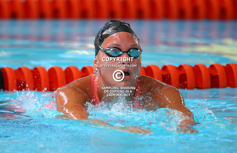 DURBAN, SOUTH AFRICA, February 6 2016 - Rene Warnes Women 200m LC Butterfly during Day 3  the second&nbsp;leg of the 2016 South African Swimming Grand Prix series at the  Kings Park Swimming Pool Durban South Africa. (Photo by Steve Haag)<br /> Images for social media must have consent from Steve Haag