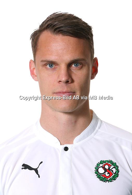 Erik Moberg<br /> Halvfigur<br /> @Leverans<br /> Allsvenskan 2016<br /> Fotboll