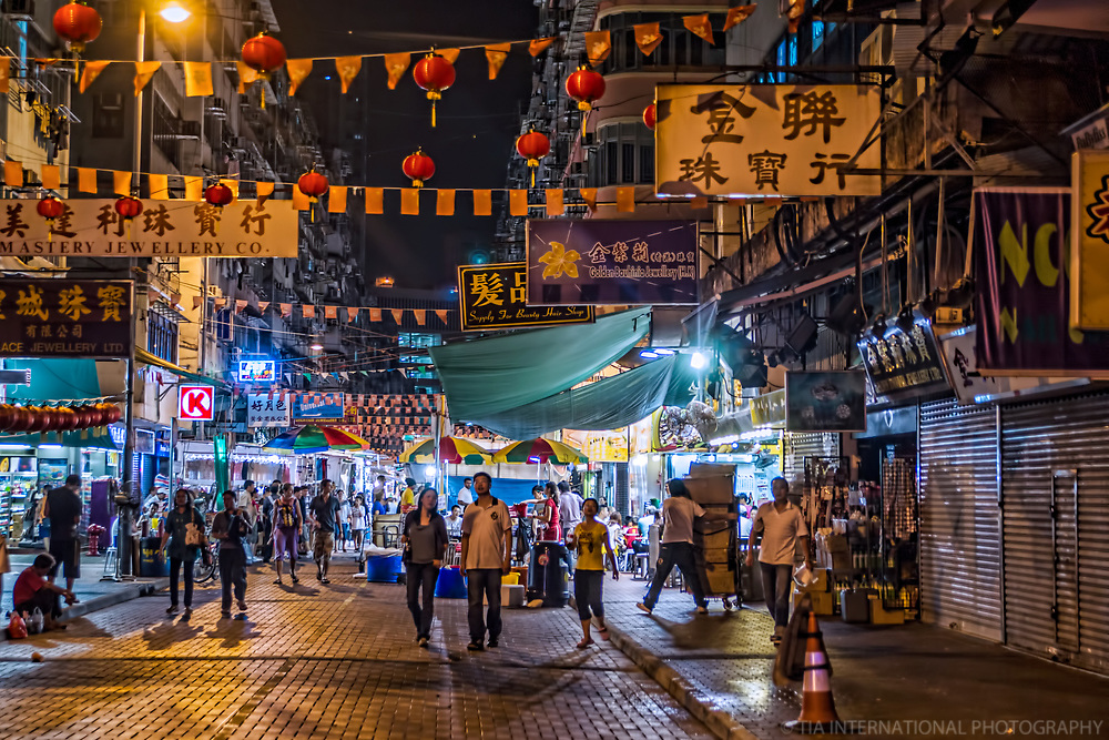 Temple Street Market, Kowloon