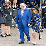 NLD/Den Haag/20190917 - Prinsjesdag 2019, Ton Elias en partner
