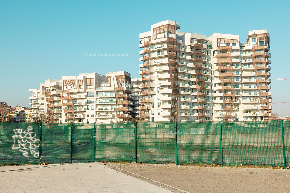 Milan, City Life neighborhood.