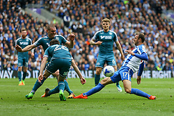 Glenn Murray of Brighton & Hove Albion in action - Mandatory by-line: Jason Brown/JMP - 17/04/2017 - FOOTBALL - Amex Stadium - Brighton, England - Brighton and Hove Albion v Wigan Athletic - Sky Bet Championship