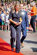 26-6-2018 ZEVENAAR - Queen Maxima during the signing of a covenant for better music education in schools in her role as honorary president of Meer Muziek in de Klas. ROBIN UTRECHT