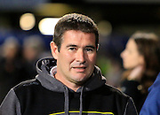 Burton Albion manager Nigel Clough during the EFL Sky Bet Championship match between Ipswich Town and Burton Albion at Portman Road, Ipswich, England on 18 October 2016. Photo by Richard Holmes.