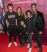 2019, December 01. Pathe ArenA, Amsterdam, the Netherlands. Urvin Monte at the dutch premiere of The Addams Family.