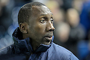 Jimmy Floyd Hasselbaink (QPR) during the Sky Bet Championship match between Sheffield Wednesday and Queens Park Rangers at Hillsborough, Sheffield, England on 23 February 2016. Photo by Mark P Doherty.