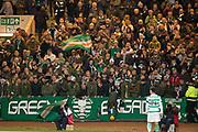 31st October 2018, Kilmac Stadium, Dundee, Scotland; Ladbrokes Premiership football, Dundee v Celtic; Celtic fans