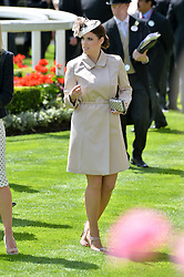 HRH PRINCESS EUGENIE OF YORK at the first day of the 2014 Royal Ascot Racing Festival, Ascot Racecourse, Ascot, Berkshire on 17th June 2014.