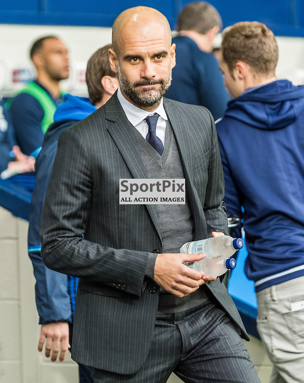 Manchester City manager Pep Guardiola in the Premier League match between West Bromwich Albion and Manchester City <br /> <br /> (c) John Baguley | SportPix.org.uk