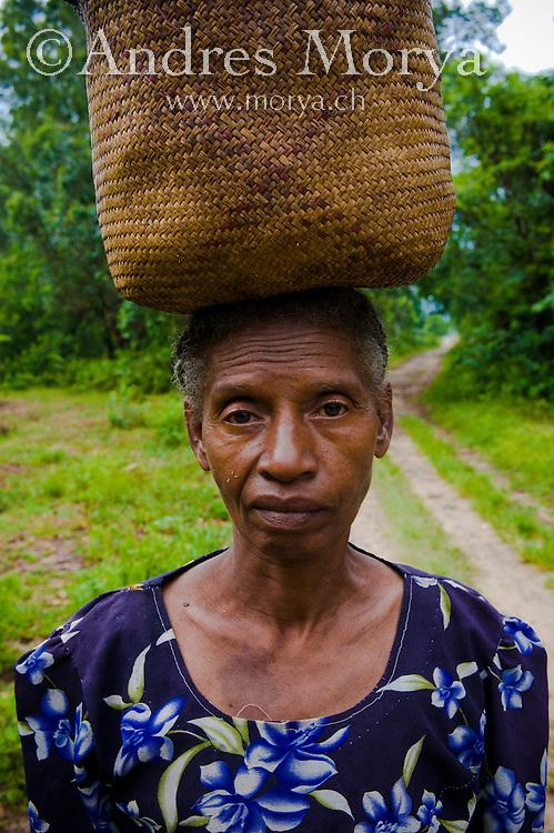 Malagasy woman, Masoala, Madagascar Maroantsetra, Image by Andres Morya