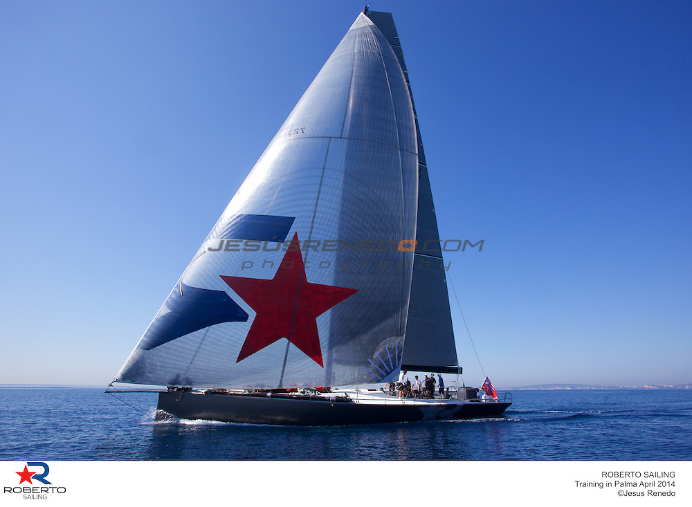 MiniMaxi JV 72 Robertissima III, training in Mallorca, 2014-04-18