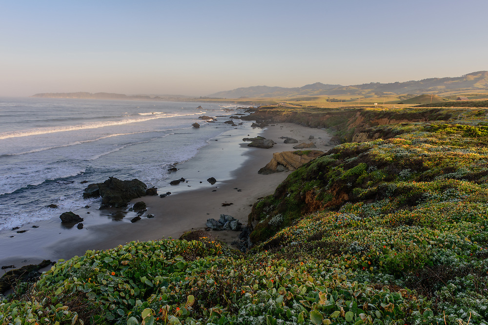 Beach, San Simeon, California