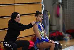 at rhythmic gymnastics for 15th Slovenian Challenge Tournament 2013, on November 16, 2013, in Dvorana Sentvid, Ljubljana, Slovenia. (Photo by Matic Klansek Velej / Sportida.com)