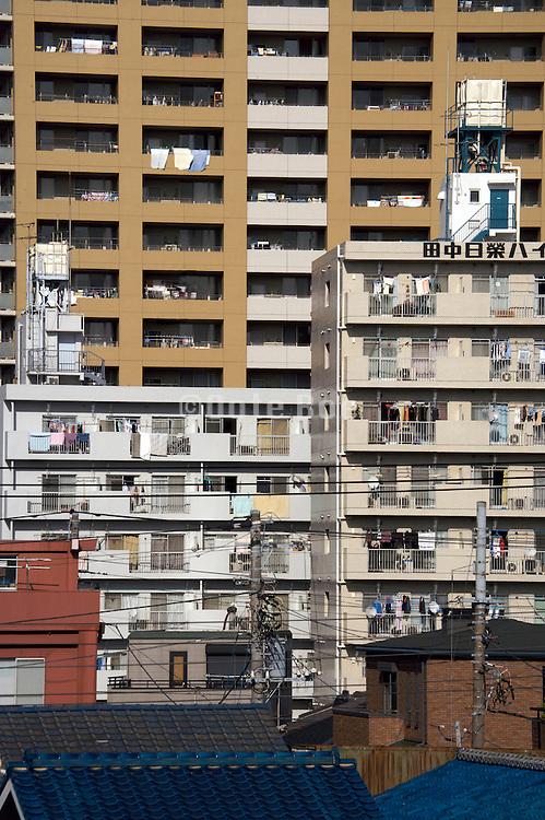 modern residential high rise in Japan Yokosuka