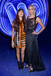 Left to right, Zara Martin and Amber Le Bon at the Warner Music & Ciroc Brit Awards party, Freemasons Hall, 60 Great Queen Street, London England. 22 February 2017.