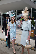 EARL OF DERBY' LADY HENRIETTA STANLEY; THE COUNTESS OF DERBY, Investec Derby, Epsom. June 2 2018
