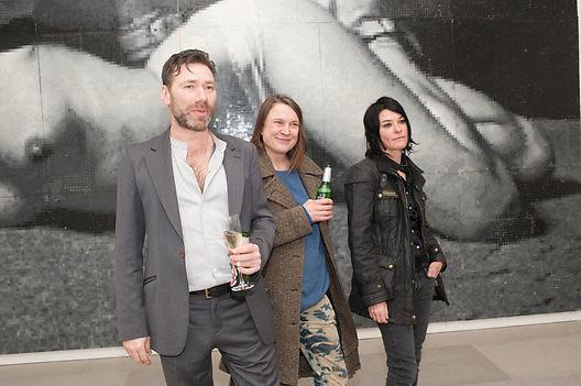 MAT COLLISHAW; SARA LUCAS; SUE WEBSTER, This is not an Exit. Mat Collishaw. Blain Southern. Hanover Sq. London. 13 February 2013.