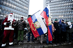 DEC 23 2012 Slovenia Protests