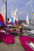 AT5BWE Launch sailing dinghy boats River Deben Woodbridge Suffolk