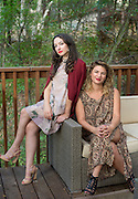 Carleton alumni Helen Grossman and Aliza Faragher, founders of the dating app Align, which matches users based on their astrological sign, are pictured in Malibu, Calif., on Sept. 14, 2015.