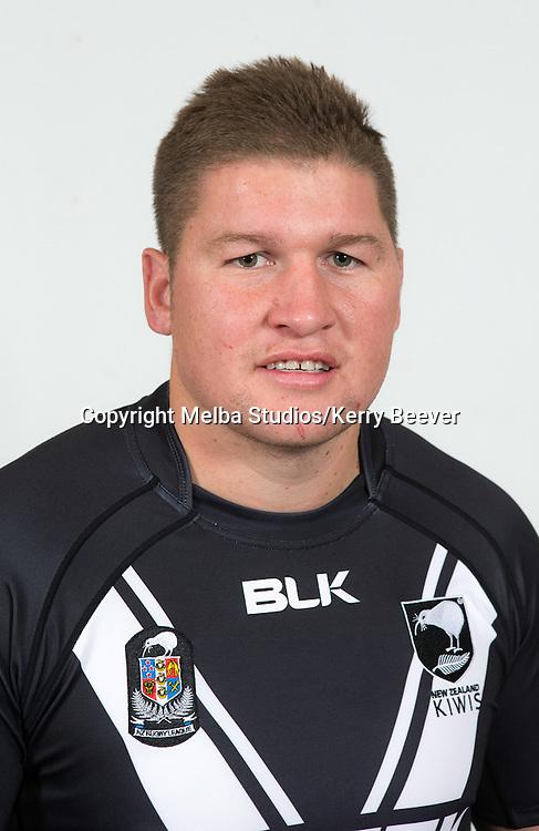 Greg Eastwood, New Zealand Kiwis rugby league team headshots ahead of the 2014 Kiwis v Kangaroos test. Sydney, Australia. 28 April 2014. Photo: Melba Studios/Kerry Beever