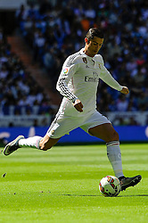 05.04.2015, Estadio Santiago Bernabeu, Madrid, ESP, Primera Division, Real Madrid vs FC Granada, 29. Runde, im Bild Real Madrid&acute;s Cristiano Ronaldo // during the Spanish Primera Division 29th round match between Real Madrid CF and Granada FC at the Estadio Santiago Bernabeu in Madrid, Spain on 2015/04/05. EXPA Pictures &copy; 2015, PhotoCredit: EXPA/ Alterphotos/ Luis Fernandez<br /> <br /> *****ATTENTION - OUT of ESP, SUI*****