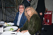 BILL WYMAN; SUZANNE WYMAN, Gabrielle's Gala 2013 in aid of  Gabrielle's Angels Foundation UK , Battersea Power station. London. 2 May 2013.