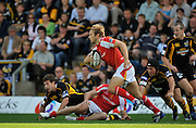 Wycombe, GREAT BRITAIN,  Chris PENNELL, during the Guinness Premiership match,  London Wasps vs Worcester Warriors at Adam's Park Stadium, Bucks on Sun 14.09.2008. [Photo, Peter Spurrier/Intersport-images]