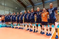 06-09-2018 NED: Netherlands - Argentina, Doetinchem<br /> First match of Gelderland Cup / Team Netherlands, line up