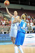 DESCRIZIONE : Riga Latvia Lettonia Eurobasket Women 2009 final 5th-6th Place Italia Grecia Italy Greece<br /> GIOCATORE : Laura Macchi<br /> SQUADRA : Italia Italy<br /> EVENTO : Eurobasket Women 2009 Campionati Europei Donne 2009 <br /> GARA : Italia Grecia Italy Greece<br /> DATA : 20/06/2009 <br /> CATEGORIA : tiro<br /> SPORT : Pallacanestro <br /> AUTORE : Agenzia Ciamillo-Castoria/M.Marchi<br /> Galleria : Eurobasket Women 2009 <br /> Fotonotizia : Riga Latvia Lettonia Eurobasket Women 2009 final 5th-6th Place Italia Grecia Italy Greece<br /> Predefinita :
