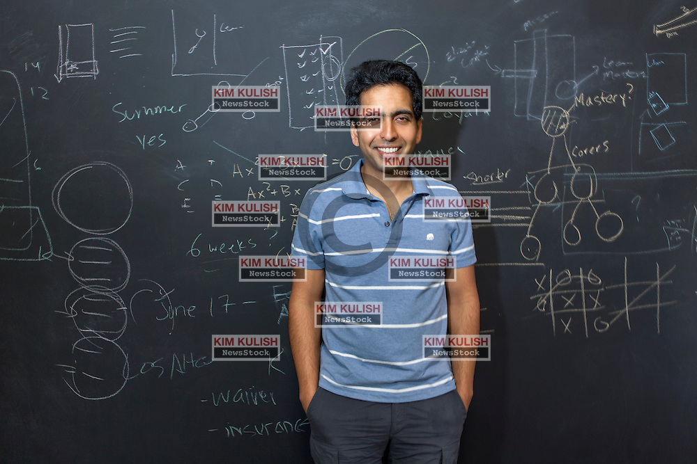 Salman Khan founded the Khan Academy.  A not-for-profit with the goal of changing education for the better by providing a free world-class education for anyone anywhere.