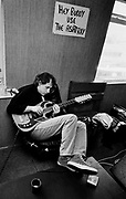 Mark Knopfler - Dire Straits Wood Wharf studios 1981