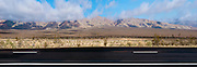Aerospace Highway, Midland Trail, Mojove Desert, En Route to Death Valley NP, Panorama; Red Rock Canyon State Recreation Area; California City; Ricardo; CA; arid; mountain range; united states; usa