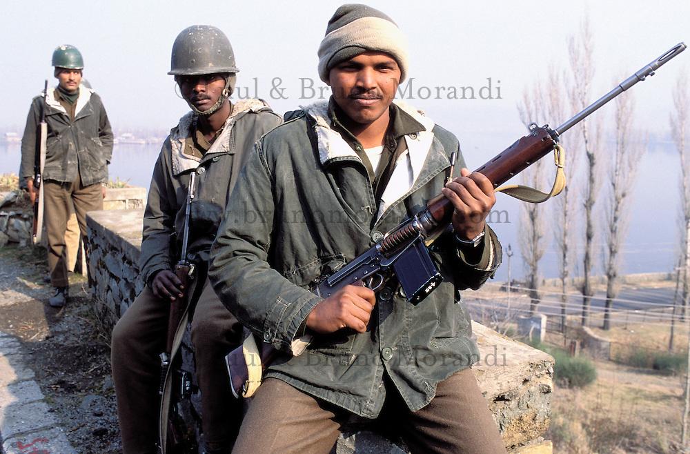 Indian army - Srinagar - Kashmir (Cachemire) - India
