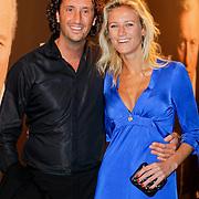 NLD/Amsterdam/20111017 - Premiere De Heineken Ontvoering, jan Jost van Gangelen en partner Didi