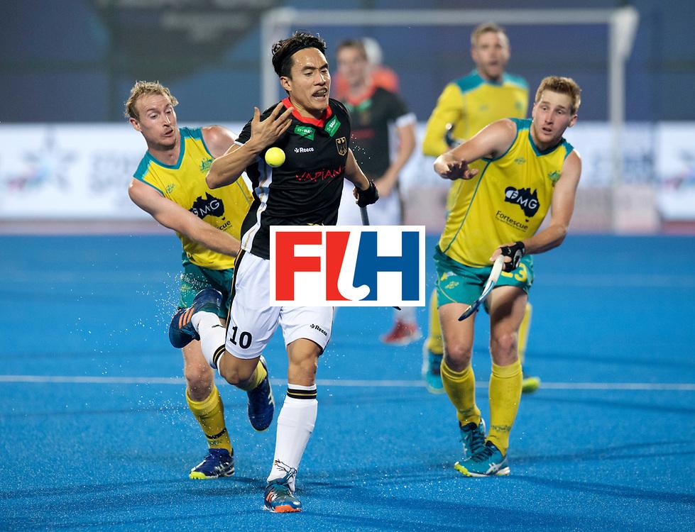 Odisha Men's Hockey World League Final Bhubaneswar 2017<br /> Match id:05<br /> 05 GER v AUS (Pool B)<br /> Foto:  Dan Nguyen (Ger) <br /> WORLDSPORTPICS COPYRIGHT FRANK UIJLENBROEK
