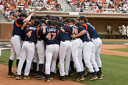 The Virginia Cavaliers Baseball Team.  The Virginia Cavaliers defeated the Oregon State Beavers 7-4 in 13 innings during Game 4 of the NCAA World Series Regionals held at Davenport Field in Charlottesville, VA on June 2, 2007.