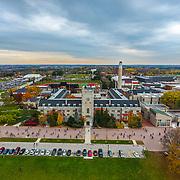 Johnston Hall Aerial by Mido Melebari