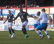 Christian Nade - Dundee v Greenock Morton, SPFL Championship at <br /> Dens Park<br /> <br />  - &copy; David Young - www.davidyoungphoto.co.uk - email: davidyoungphoto@gmail.com