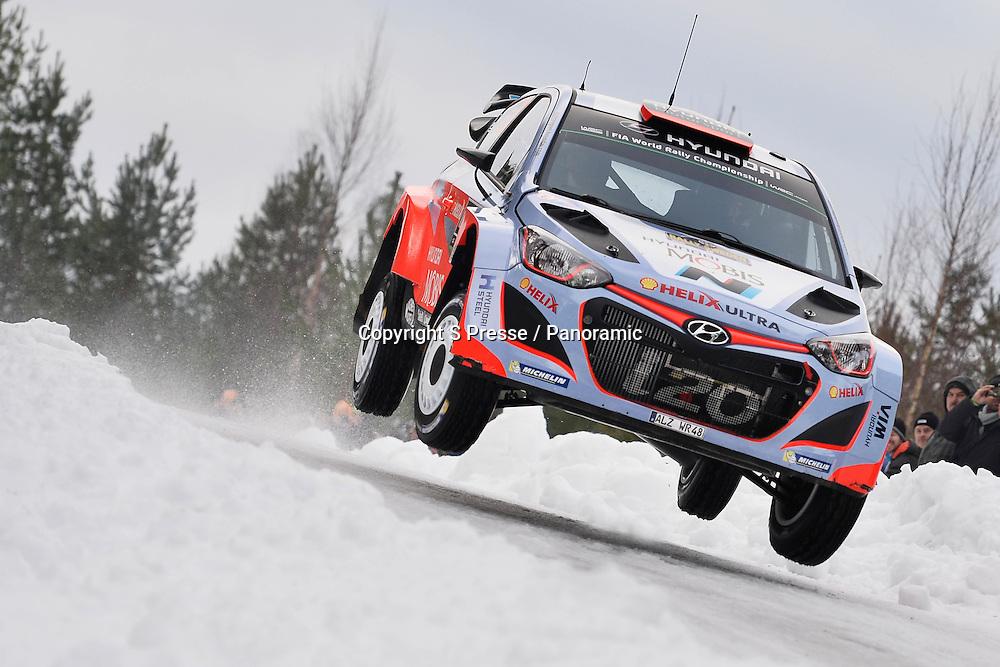 Kevin Abbring (NL) - S.Marshall (AUS) Hyundai I20 WRC