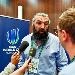 Sebastien Chabal during the press conference World Cup Rugby 2023 on May 15, 2018 in Paris, France. (Photo by Aude Alcover/Icon Sport)